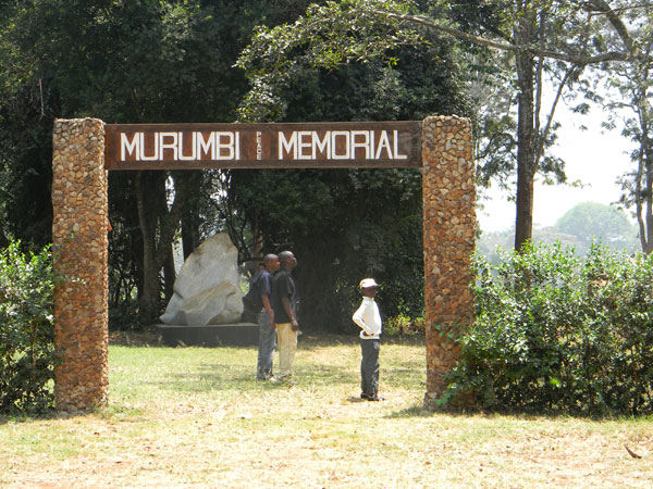City Park is also the location of the Murumbi Peace Memorial photo © by Michael Plagens